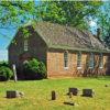 historic westover church-post
